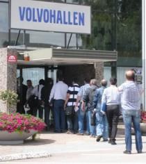 Det var med stor optimism – och under stor medial uppmärksamhet – som de utländska ingenjörerna anlände till Göteborg och Volvo PV. Foto: Peter Alestig Blomqvist.