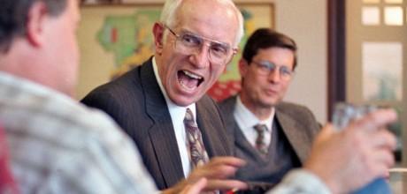Majoriteten i undersökningen har gapskrattat med sin chef. Foto: Rich Pedroncelli.