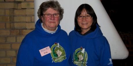 Jill Westermark och Sachiko Takami