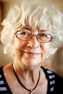 Foto: Anna Simonsson. Laila Ohlgren fick Polhemspriset 2009.