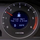 De tidigare teknologerna har utvecklat tekniken till ett trötthetsvarningssystem.Bild: Volvo Personvagnar/Volvo Personbilar