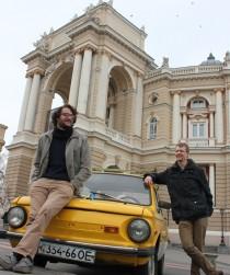 För två år sedan startade Gustav Henman och Andreas Flodström från Chalmers IT-bolaget Beetroot Resources i Ukraina. Foto: Hanna Pysana.