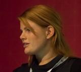 Foto: Anders Ripa. Sofia Johannesson är ordförande för Akademikerföreningen på AstraZeneca i Södertälje.