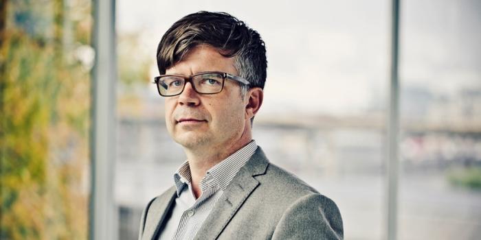Jonas Mellqvist, kommunikationschef på PTK. Foto: Jezzica Sunmo