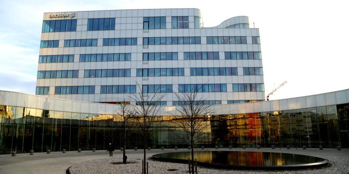 Ericssons huvudkontor i Kista. Pressbild