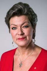 Ylva Johansson, arbetsmarknadsminister