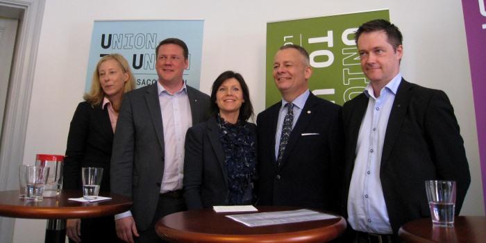 LO, TCO och Saco går samman i biståndsorganisationen Union to Union.