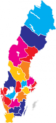 Under den tvåårsperiod som Idélandet Sverige pågår kommer samtliga av Sveriges Ingenjörers distrikt att besökas.