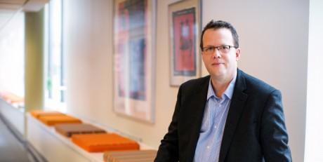 MArtin Linder, ny förbundsordförande för Unionen. Foto: Camilla Svensk.