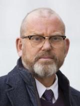 Johan Lindholm, Byggnads ordförande. Pressbild.