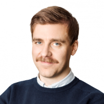 Fredrik Söderqvist, utredare på Unionen. Pressbild