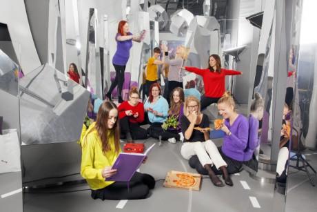 Foto:Emma Fredriksson, Tekniska Museet. Geek Girls Meet Up vill vara ett forum där it-intresserade tjejer kan hitta ett forum för att träffas, utvecklas och vara på sina egna villkor.