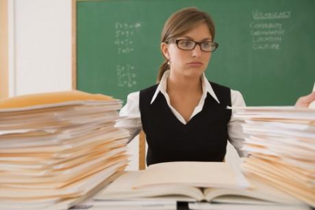 Foto: Comstock Images. Kvinnor drabbas i högre grad än män av psykosocial arbetssjukdom.