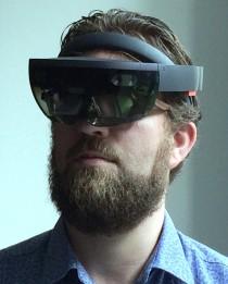Scott Leaman m HoloLens