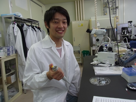 Foto: Privat. Hiroki Yasuga är nu doktorand vid Keio University i Yokohama.