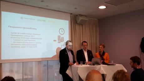 Foto: Ingenjören. Ulf Bengtsson, Martin Linder och Anna-Karin Hatt var alla nöjda med samarbetet.