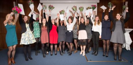 Foto: Erik Frenne. De tio finalisterna har haft en fullspäckad höst med studiedagar hos företag och personlig utveckling.